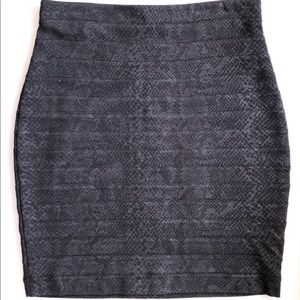 Amanda+Chelsea black bodycon pencil skirt 4